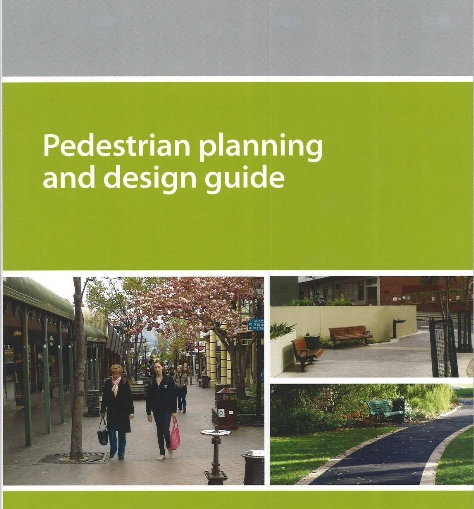 Pedestrian Planning and Design Guide cover page