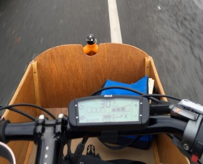 E-bike speedo