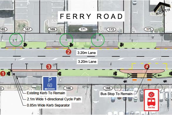 Ferry Rd option 1