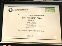 Best research paper award