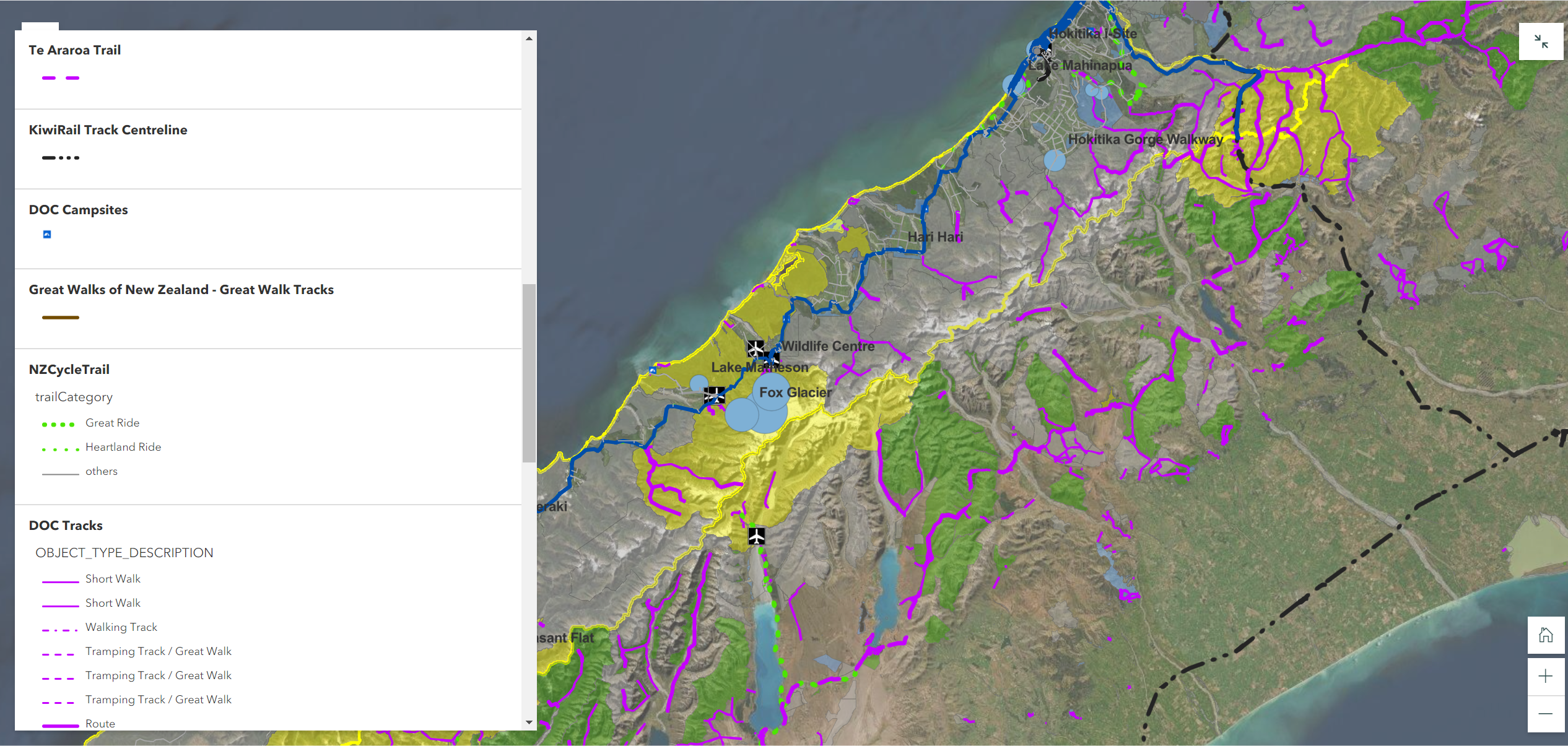 Sample webmap page
